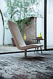 Современное вращающееся кресло без подлокотников Fender фабрики Alberta (Италия), фото 5
