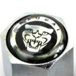 Колпачки на ниппеля, золотники c лого Jaguar Ягуар