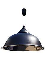 Лампа подвесная промышленного и бытового назначения - подвес черный мат