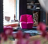 Итальянское дизайнерское кресло без подлокотников Gossip фабрика Alberta, фото 8