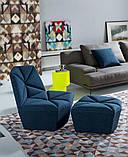 Итальянское дизайнерское кресло без подлокотников Gossip фабрика Alberta, фото 2