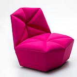 Итальянское дизайнерское кресло без подлокотников Gossip фабрика Alberta, фото 5