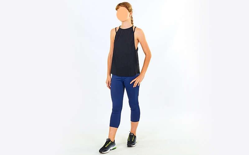 Майка для фітнесу і йоги VSX V008-BK