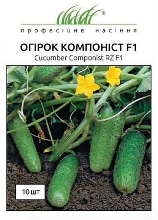 Семена огурцов Компонист F1 10 шт, Rijk Zvaan, фото 2
