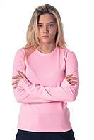 Лонгслив женский розовый