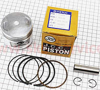 Поршень, палец, кольца к-кт CB150сс 62мм STD (палец 15мм) на мотоцикл VIPER -150-J