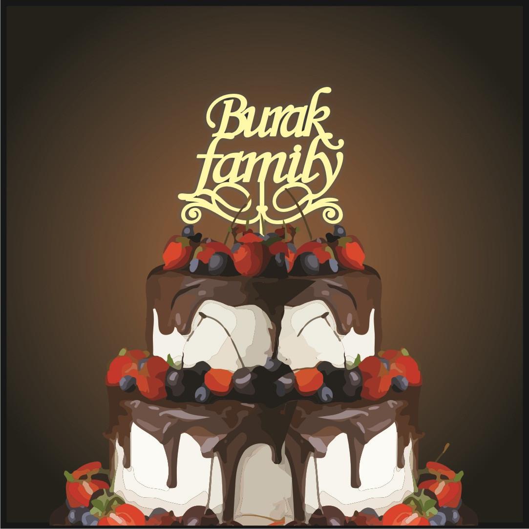 Топпер Burak family