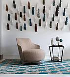 Італійське кругле дизайнерське обертове крісло Jammin фабрики Alberta, фото 2