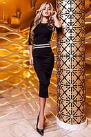 Женское черное платье Богемия Jadone  42,46 размеры