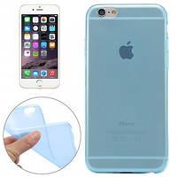 Голубой силиконовый чехол для iPhone 6 Plus, 6s plus