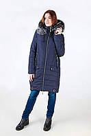 Зимняя куртка модель 17-53, синий (42-52) 3 цвета