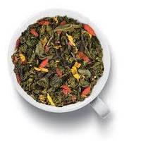 Чай Gutenberg  зеленый с добавками Годжи - Малина