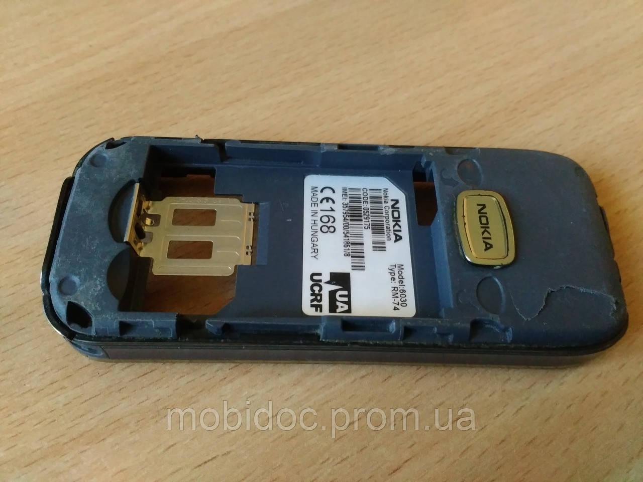 Корпус (средняя часть) Nokia 6030 б/у