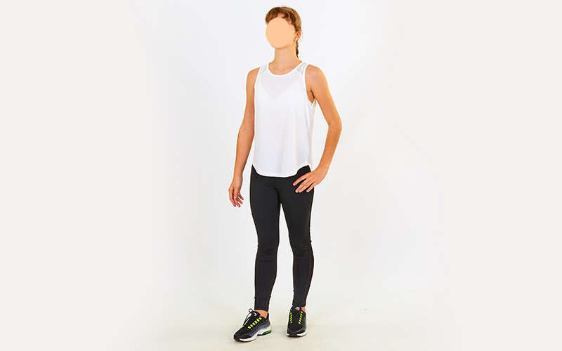 Майка для фитнеса и йоги VSX V012-W