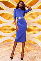 Женское платье Богемия электрик Jadone  44-46 размеры