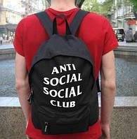 Рюкзак ASSC, черный