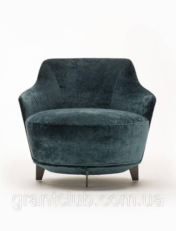Італійське кругле дизайнерське обертове крісло Jammin фабрики Alberta