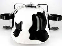 Каска шлем для пива коровка