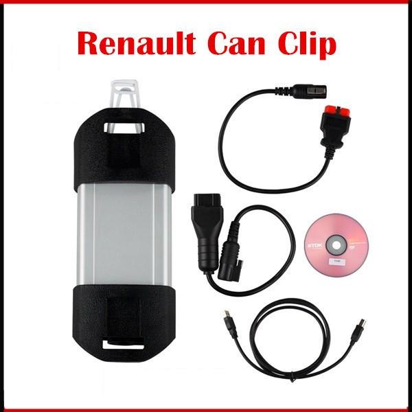Renault CAN Clip A+ OBD2 сканер диагностики авто