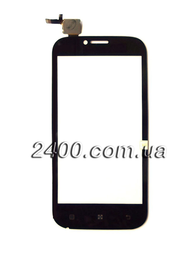 Сенсор для телефона Lenovo A 706 тачскрин черный