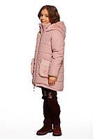 Пальто пудра р.134,152,158