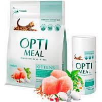 Optimeal (Оптимил) KITTENS - сухой корм для котят (курица), 4кг.