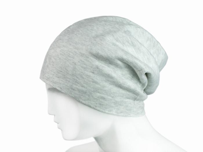 Серая шапка бини утепленная Oxherd