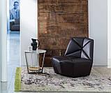 Итальянское дизайнерское кресло без подлокотников Gossip фабрика Alberta, фото 3