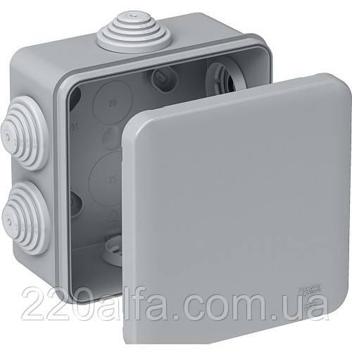 Распределительная коробка открытой установки Schneider Electric, 100x100x50 мм, IP55. SE IMT35091