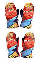 Перчатки болоневые для мальчиков оптом, Disney, 3-6 лет., Арт. CR-A-GLOVE-34