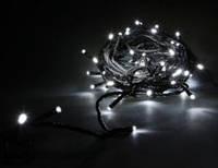 Гирлянда Нить соединяемая, 10м черый кабель Ø2,2мм