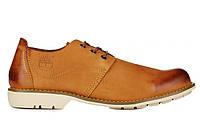 Мужские туфли Timberland Hartwick Plain Toe Oxford Mid Yellow (туфли тимберленд) желтые
