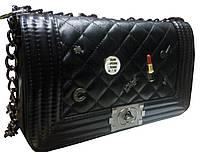 Женская сумка/клатч Chanel BOY, Шанель (ЧЕРНЫЙ), 014