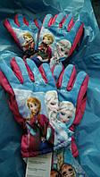 Перчатки для девочки Disney. Размеры 3-4,5-6лет