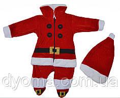 """Детский новогодний комбинезон """"Санта"""" для мальчиков"""