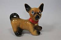 Собака Бублик 15 см