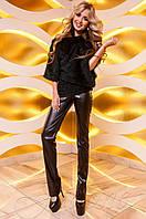 Женская туника Кайса изумруд ТМ Jadone  42-48 размеры