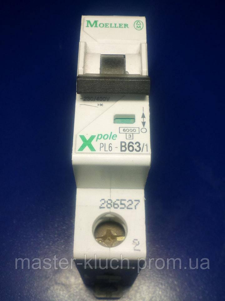Автоматический выключатель Moeller PL-6 B 63A