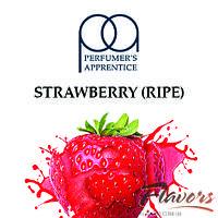 Ароматизатор TPA Strawberry Ripe (Спелая клубника) для самозамеса  100 мл.