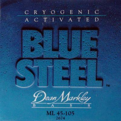 Струны для бас-гитары Dean Markley Blue Steel ML 2674
