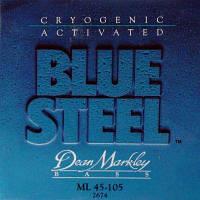 Струны для бас-гитары Dean Markley Blue Steel ML 2674
