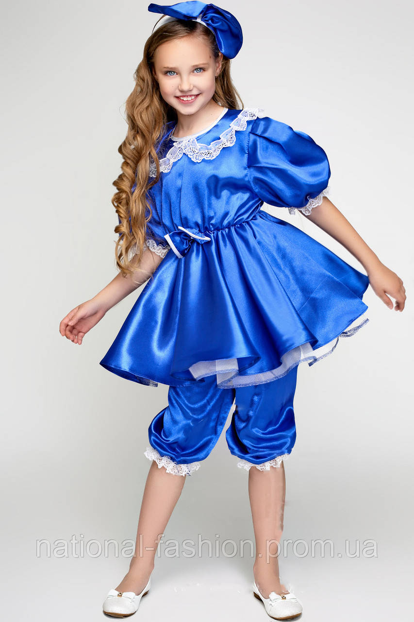 Детский карнавальный костюм для девочки «Мальвина» (3-6 лет)