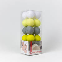 Хлопковая гирлянда Cottonballlights (35 шаров)