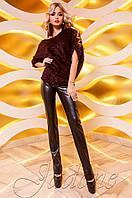 Женская туника Кайса марсала ТМ Jadone  42-48 размеры