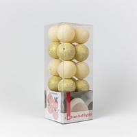 Хлопковая гирлянда Cottonballlights (50 шаров)