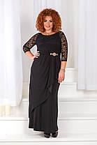 ДС1229/1 Вечернее платье размеры 50-56, фото 3
