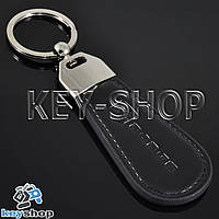 Кожаный брелок для авто ключей Dodge (Додж)