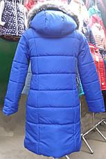 Теплая зимняя детская подростковая куртка, р.152,158,164, фото 3