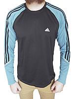 Кофта Adidas р-р L (сток, б/у) мужская спортивная водолазка