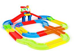 Детская железная дорога с поездом Train Park 378 см